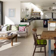 Traditional Open Kitchen Extension Idea Diner