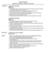 Functional Resume Meaning Cage Cashier Professional Mailroom Supervisor