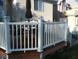 Garden Ideas : Composite Deck Railing Ideas How To Get The Best ... 24m Decking Handrail Nationwide Delivery 25 Best Powder Coated Metal Fencing Images On Pinterest Wrought Iron Handrails How High Is A Bar Top The Best Bars With View Time Out Sky Awesome Cantilevered Deck And Nautical Railing House Home Interior Stair Railing Or Other Kitchen Modern Garden Ideas Deck Design To Get The Railings Archives Page 6 Of 7 East Coast Fence Exterior Products I Love Balcony Viva Selfwatering Planter Attractive Home Which Designs By Fencesus Also Face Mount Balcony Alinum Railings 4 Cityscape