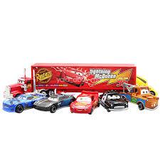 13PCS Xmas Cars 2 Lightning McQueen Racer Mack Truck Kid Toy ...