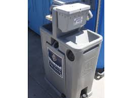 Mobile Self Contained Portable Electric Sink by Portable Sinks Diamond Services