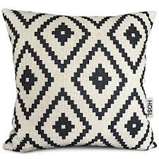 Decorative Couch Pillow Covers by Cotton Linen Decorative Throw Pillow Case Cushion Cover Navy