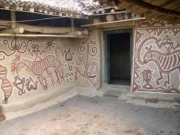 2005 02a Parvati Devi Home Kurmi Sohrai Bhelwara