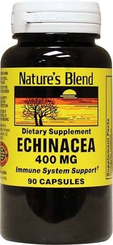 Nature's Blend Echinacea Dietary Supplement - 90ct