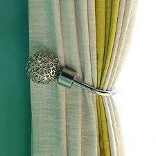 vorhanghaken für schlafzimmer wohnzimmer vorhang raffhalter