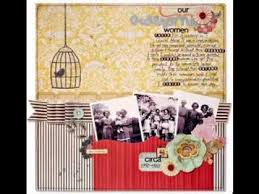 DIY Family History Scrapbook Projects Ideas