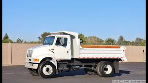 1995 International 8100 5-7 Yard Dump Truck - YouTube