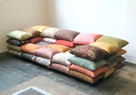 grand coussin canapé coussins pour canapes coussin sur mesure canape noir et blanc