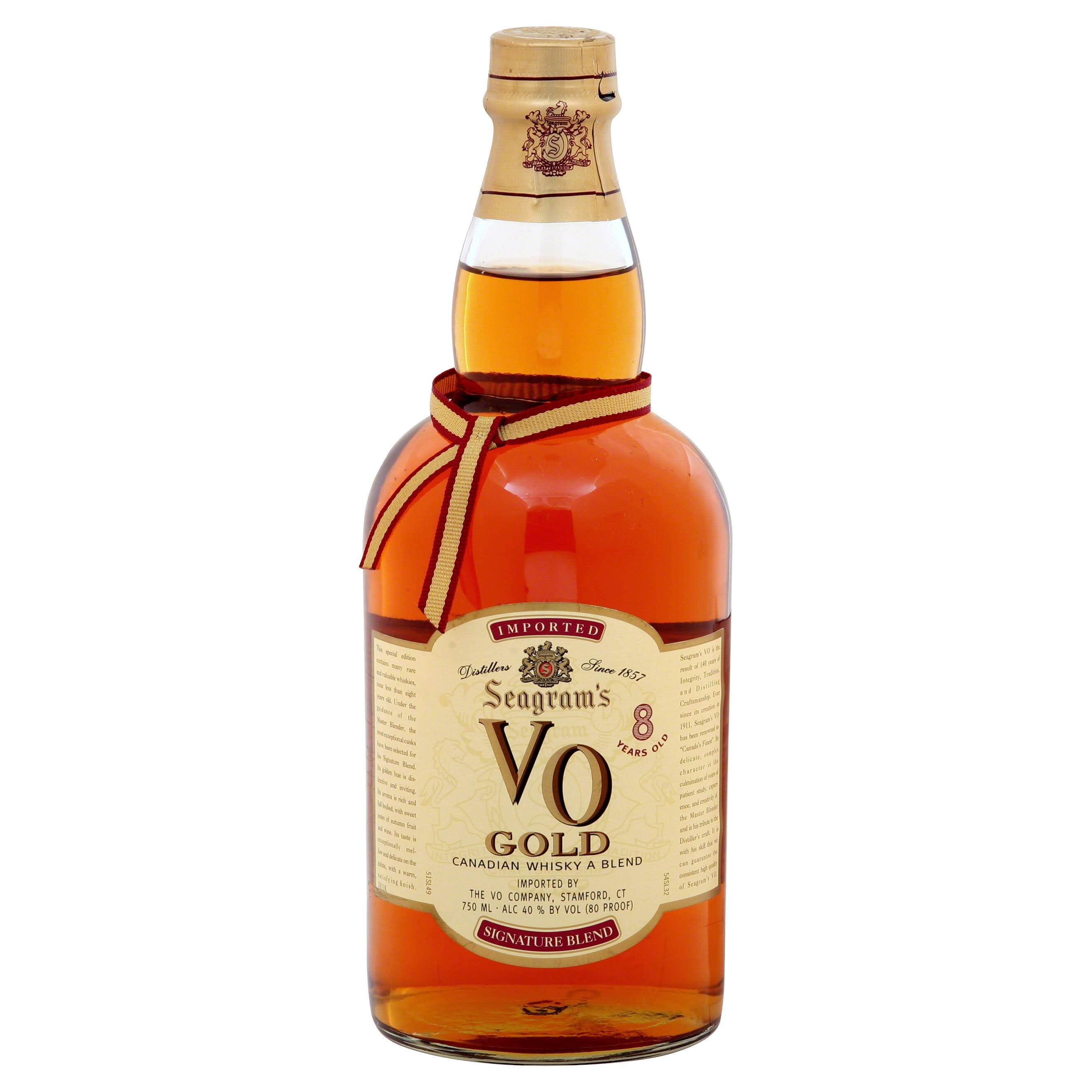 Seagram's V0 Gold Canadian Whisky - 750ml