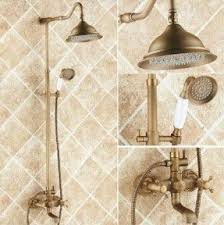 antique brass shower fixtures foter