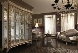 vitrine 3 tr wohnzimmer raffaello luxus stilmöbel italien