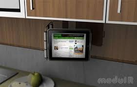 support mural cuisine des supports muraux pour l et ipod touch domotiques by