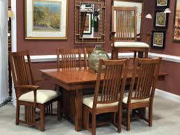 Mission Style Dining Table & 6 Chairs – Petersons' Consigning Design John Thomas Select Ding Mission Side Chair Fniture Barn Almanzo Barnwood Table Tapered Leg Black Base Amish Crafted Oak Room Set 1stopbedrooms Updating Style Chairs The Curators Collection Stickley Six Ellis A Original Sold Of 8 Arts Crafts 1905 Antique Craftsman Plans And With Urban Upholstered Rotmans Marbrisa Available At Jaxco
