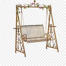 Rocking Chair Swing Wrought Iron Garden Furniture