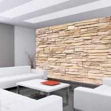 asian wall steinwand tapete steinwand steinoptik stein steine wand wall 3d steintapete beige