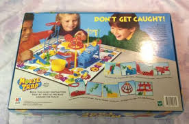 Mouse Trap Board Game 1999 100 Complete Milton Bradley