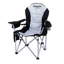 KingCamp Camping Chair Heavy Duty Lumbar Back Support Oversized Quad Arm  Chair Padded Folding Deluxe With Cooler Armrest Cup Holder, Supports 350 Lbs Folding Chair Charcoal Seatcharcoal Back Gray Base 4box Gsa Skilcraf 6 Best Camping Chairs For Bad Reviewed In Detail Nov Kingcamp Heavy Duty Lumbar Support Oversized Quad Arm Padded Deluxe With Cooler Armrest Cup Holder Supports 350 Lbs 2019 Lweight And Portable Blood Draw Flip Marketlab Inc Adjustable Zanlure 600d Oxford Ultralight Outdoor Fishing Bbq Seat Hercules Series 650 Lb Capacity Premium Black Plastic Steel Bag Lawn Green Saa Artists Left Hand Table Note Uk Mainland Delivery Only The According To Consumers Bob Vila