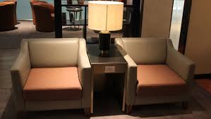 Duo Back Chair Singapore by Singapore Airlines Silverkris Business Class Lounge Bangkok