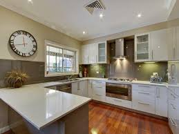 Simple Kitchen Design With Good U Shape Weskaap Home Photo