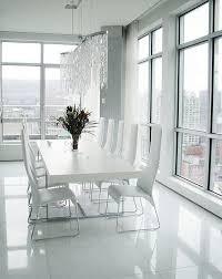 das moderne esszimmer wie sieht es aus minimalistische