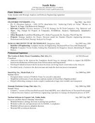 Sample Resume For Lecturer Post In Engineering College Freshers New Templates Puter Science