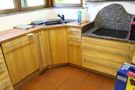 küche u form vollholz birke schreinerküche fa stiehle