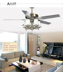 Large Ceiling Fans Dining Room With Lights Industrial Malaysia
