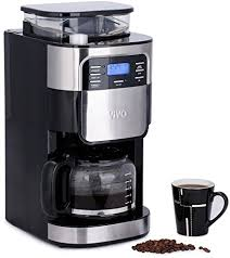 Vivo C 15L Bean To Cup Digital Stainless Steel Filter Coffee Maker Machine With Integrated