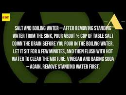 Bathtub Drain Clogged Standing Water by How Do You Unclog A Drain With Standing Water Youtube