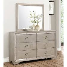 Hayworth Mirrored Chest Silver by Dressers Bedroom Dresser Furniture