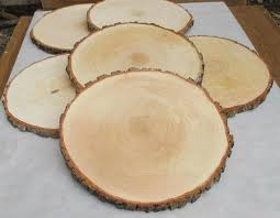 14 15 Large Alder Wood Slice Inch Slicelarge Slabwood PlatterRustic Wedding DecorCake StandWedding Centerpiece From