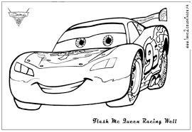Cars Movie Coloring Pages To Print 2