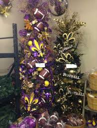 LSU And SAINTS Christmas Trees At Silks Crafts Come In See All Of Our Wonderful