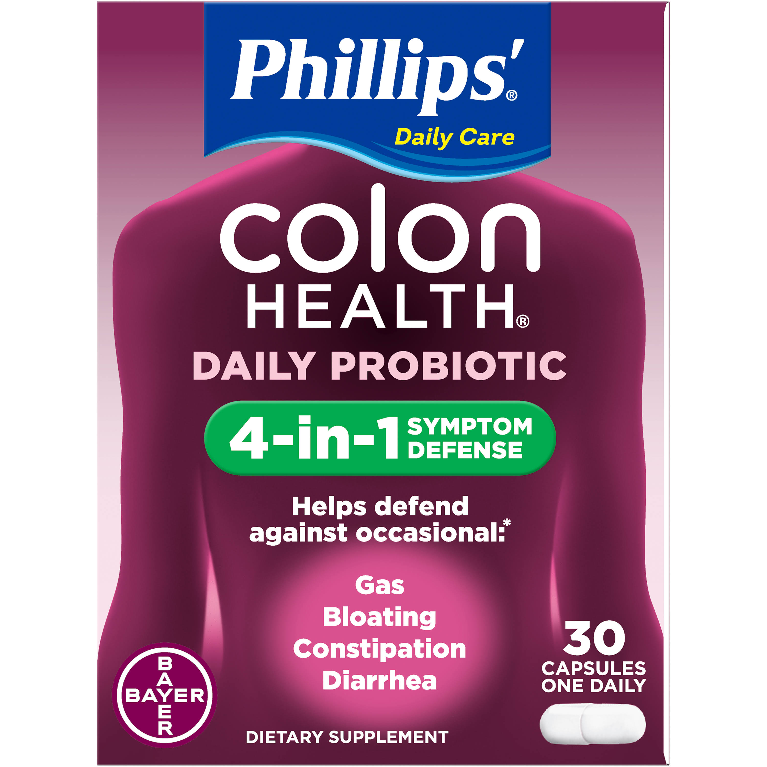 Phillip's Colon Health Probiotic Supplement - 30 Caps