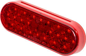 Truck-Lite 6050 Oval LED Stop / Turn / Tail Light In Red Lens Red ... 2 Pieces Lot 19 Led Truck Tail Light 24v Car Taillight Left 4 Inch Round Lights Whosale Red 10 Led Trailer Brake Stop Turn Pair 40 Leds Bus Van Rear Reverse With Red 2x 12v 5 Functions Ultra Thin Design For Akashihonpo Rakuten Global Market 20 Waterproofing Tail 2x Indicator Lamp Ute And W Reflector Braketurn Truck Trailer Lights Square Tail Stop Amazoncom Ingrated Atv 12v24v 45 Light Kit Brake Back Up Utility Rv