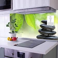 glasrückwand selbstklebend ohne bohren küchenrückwand mit