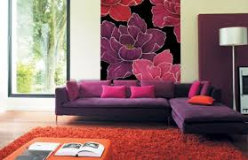 Grey And Purple Living Room by Furniture Purple Living Room With Purple Modern Sofas Feat Grey