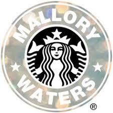 Starbucks Logo Edit Black Roses Background Be Happy Bitch