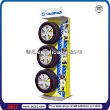 TSD M105 Custom Best Quality Wheel Display Standmetal Tire Standsfloor Standing