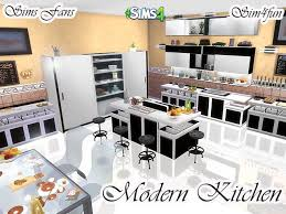 Modern Kitchen By Sim4fun At Sims Fans 4 Updates