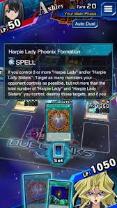 Harpie Lady Deck List by Harpie Lady Phoenix Formation Deck And Rulings Yugioh Duel