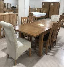 100 Oak Table 6 Chairs Rustic Chairs 50 OFF Branded Furniture