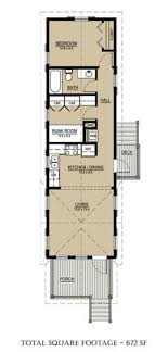 100 Long House Design Floor Plan For Previous Design 672sf Tiny S In 2019