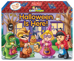 Halloween Childrens Books 2017 by Fisher Price Little People Halloween Is Here Lift The Flap