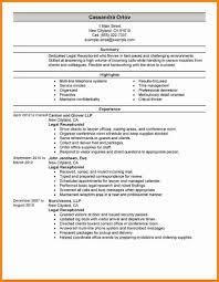 Law Firm Receptionist Resume Example Dogging 4b1380e90ab2 Legal Sample Resumes Livecareer
