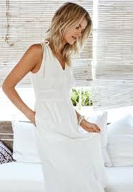 pretty summer white dresses in the sale