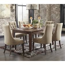Mestler Side Chair Wayfair by Dining Room Sets With Fabric Chairs Table And Bench Dining Set