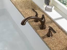 Delta Champagne Bronze Bathroom Faucet by Delta T2794 Cz Linden Roman Tub Trim Champagne Bronze Faucet