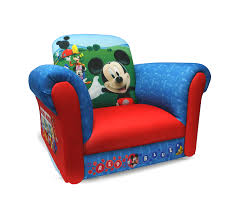 Marshmallow Flip Open Sofa Disney Princess by Mickey Mouse Clubhouse Furniture Toddlers Roselawnlutheran