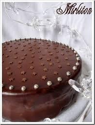 recette de cuisine gateau gâteau d anniversaire au chocolat et framboises mirliton